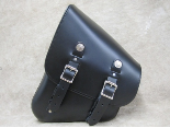 LeatherWorks Leather Solo Saddlebag