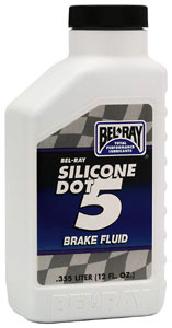 Bel-Ray Silicone Dot 5 brake fluid