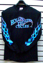 Rolling Thunder has a full selection of apparel, check it out by clicking here!