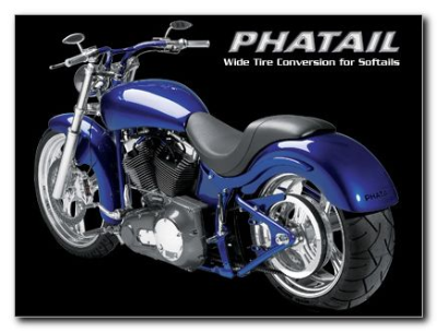 Phatail Wide Tire Kit for 2000 and newer Softail