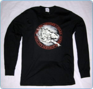 Rolling Thunder-God Long Sleeve T-Shirt