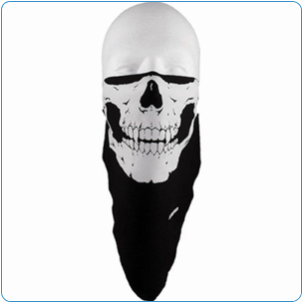 Schampa Skull  Face Mask Lightweight