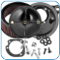 S&S Stealth Air Cleaner KIts