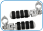 "ISO-Pegs (Large) with Clevis & 1-1/4"" Magnum Quick Clamp"
