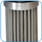 "FLO® Stainless ""Drop-in"" oil filter"