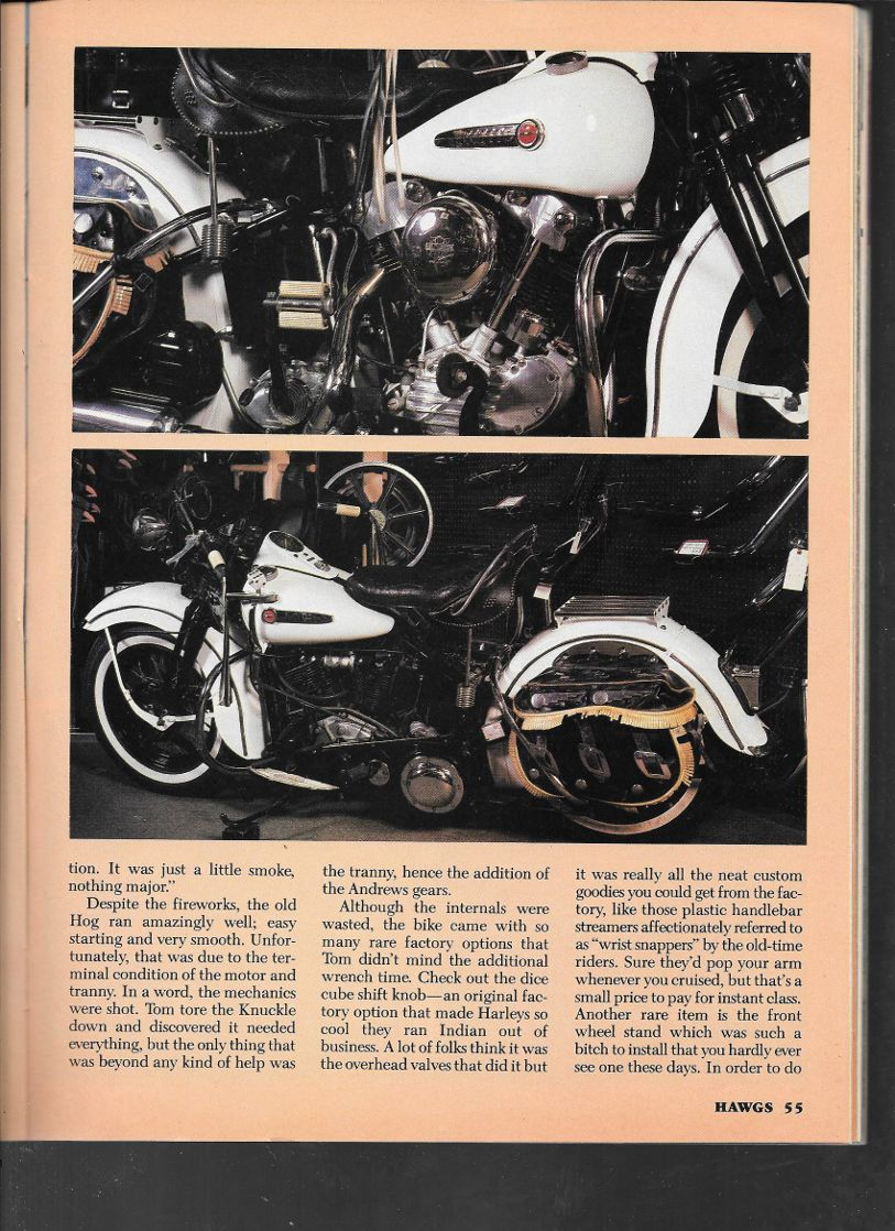 Rolling Thunder 1947 Knuckle